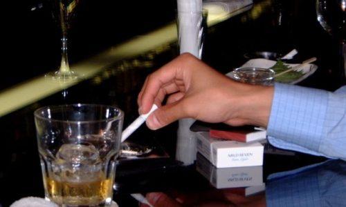 大量の飲酒や喫煙は血管を傷つける